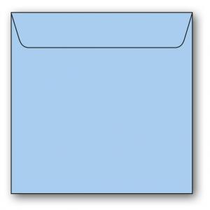 Kvadratiska Kuvert 5-pack 110g Ljusblå