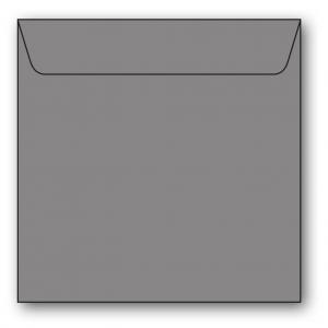 Kvadratiska Kuvert 5-pack 110g Grå