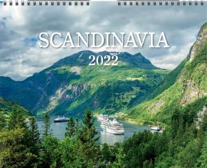 Väggkalender Scandinavia 2022