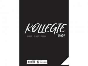 Emo Kollegieblock A4 70 Gr Linjerat - Kalenderkungen.se