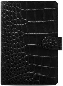 Filofax Filofax Classic Croc Personal Ebony - Kalenderkungen.se