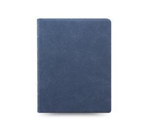 Filofax Filofax Notebook Blue Suede linjerad - Kalenderkungen.se