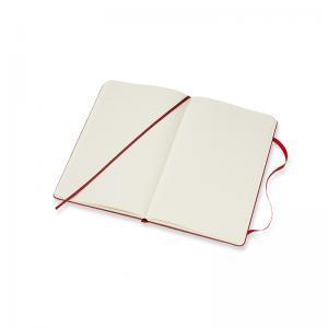 Moleskine Moleskine Dotted Classic Notebook Large - Röd 13x21cm - Kalenderkungen.se