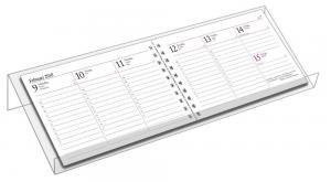 Kalenderställ veckokalender plexi