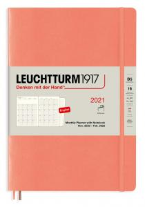 Leuchtturm Monthly planner 2021 B5 Bellini