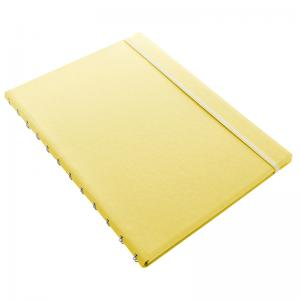 Filofax Notebook A4 Classic Pastel Lemon