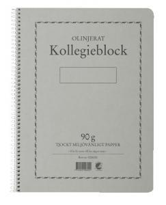 Emo Kollegieblock 90g olinjerat - Kalenderkungen.se