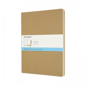 Moleskine Moleskine Cahier Journal XXL Kraft Brown Dotted - Kalenderkungen.se