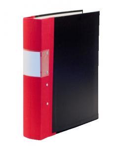 Emo Gaffelpärm A4 40mm röd - Kalenderkungen.se
