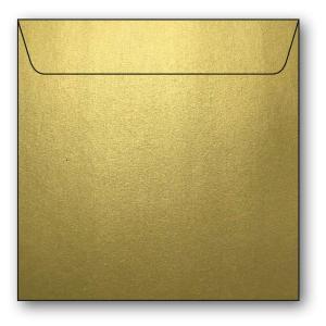 Kvadratiska Kuvert 5-pack 110g Guld