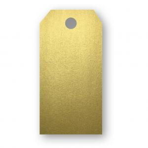 Papperix Adresskort 10-pack 220g Guld - Kalenderkungen.se