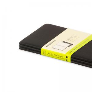 Moleskine Cahier Journal Pocket Plain - Svart