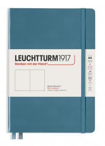 Leuchtturm Notebook A5 hard 249s Stone blue olinjerad