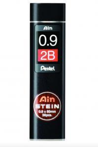 Pentel Blyertsstift AinStein 0,9mm 2B - Kalenderkungen.se