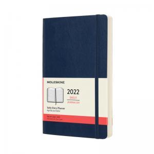 Moleskine Daily Blue Soft Large 2022