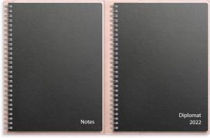 Stora Noteskalendern, rosa konstläder Tora