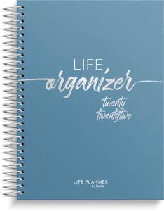Life Organizer blå 2022