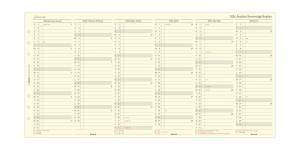 Filofax Årsplan A5 2024