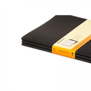 Moleskine Cahier Journal X-Large Ruled - Svart