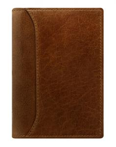 Filofax Lockwood pocket slim Cognac