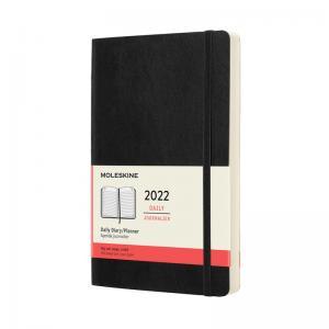 Moleskine Daily Black Soft Large 2022