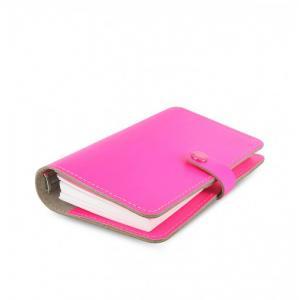 Filofax Original rosa flourescerande personal