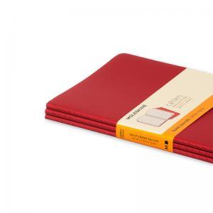 Moleskine Cahier Journal Large Ruled - Röd