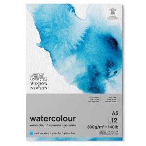 Akvarellblock A5 Winsor & Newton Classic Limmat 300g