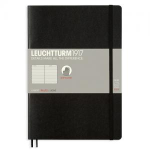 Leuchtturm1917 Leuchtturm Notebook B5 Soft 121s Black Linjerad - Kalenderkungen.se