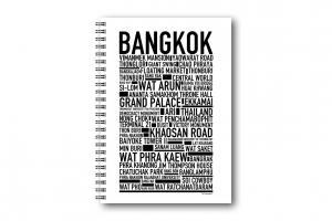 Anteckningsbok Bangkok
