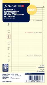 Filofax dagbok Personal V+N/U 2021