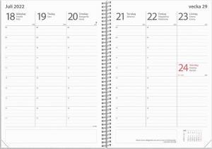 Kalender Study A5 Star 2021-2022