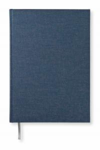 Paperstyle Olinjerad Blank Book A4 192 sidor Dark Denim - Kalenderkungen.se