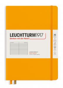 Leuchtturm Notebook A5 hard 249s Rising Sun linjerad