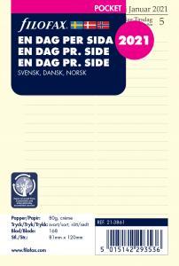 Filofax Dagbok Pocket D/S 2021
