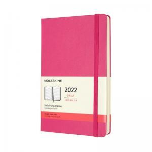 Moleskine Moleskine Daily Pink Hard Large 2022 - Kalenderkungen.se