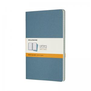 Moleskine Moleskine Cahier Journal Ruled Large Brisk Blue - Kalenderkungen.se