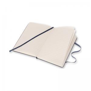 Moleskine Moleskine Ruled Classic Notebook Pocket - Mörkblå 9x14cm - Kalenderkungen.se
