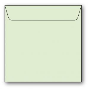 Kvadratiska Kuvert 5-pack 110g Lime
