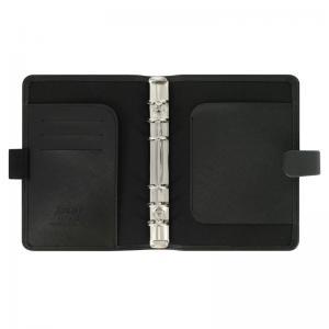 Filofax Saffiano Personal svart