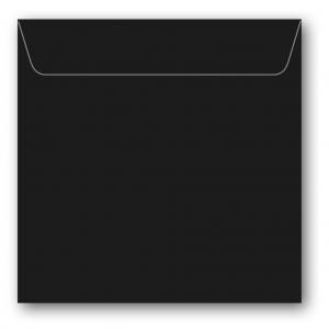 Kvadratiska Kuvert 5-pack 110g Svart