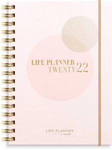 Life Planner Pink A6 2022