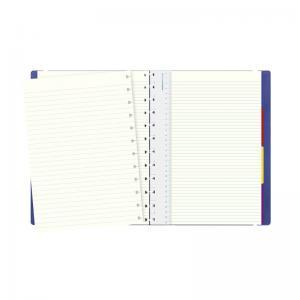 Filofax Notebook A4 linjerad blå