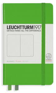 Leuchtturm1917 Leuchtturm A6 hard 185s Fresh Green olinjerad - Kalenderkungen.se