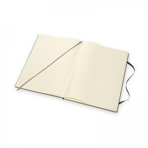 Moleskine Moleskine Classic Hard A4 Plain Notebook Black - Kalenderkungen.se
