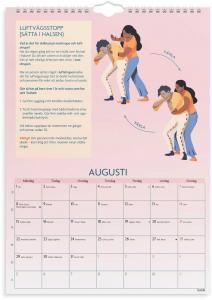 Väggkalender första hjälpen 2022