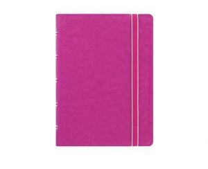 Filofax Notebook Fuchsia linjerad pocket