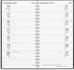 Fickkalender Plano 2022