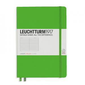 Leuchtturm1917 Leuchtturm Notebook A5 hard 249s Fresh Green linjerad - Kalenderkungen.se