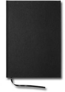 Paperstyle Olinjerad Blank Book A4 192 sidor Black - Kalenderkungen.se
